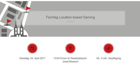 Fachtag Location Based Gaming